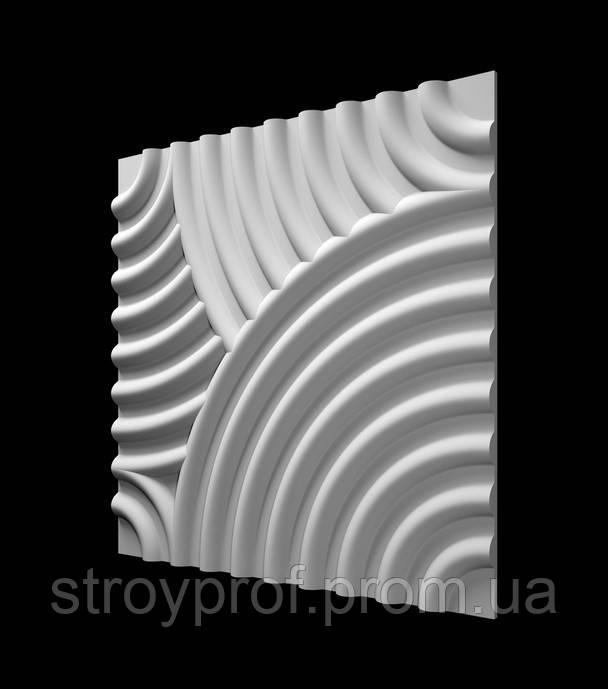 3D панели «Бриз - 2» Бетон