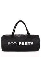 Спортивно-повседневная сумка POOLPARTY gymbag-oxford-black
