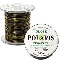 Леска Globe Polaris 600м 0.35мм camo(6шт)