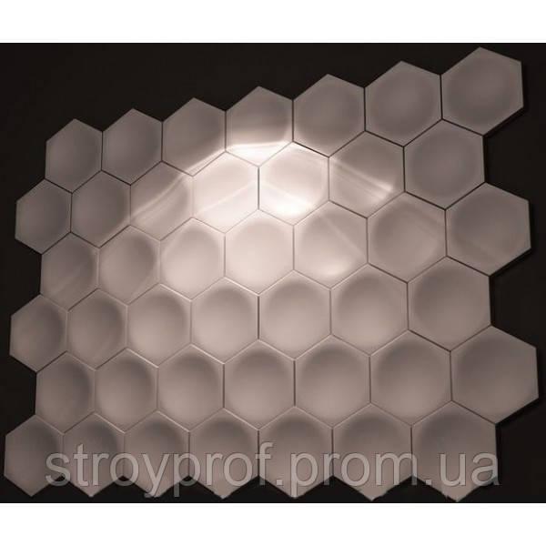 3D панели «Соты» Бетон
