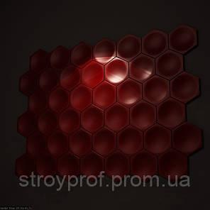 3D панели «Соты» Бетон, фото 2