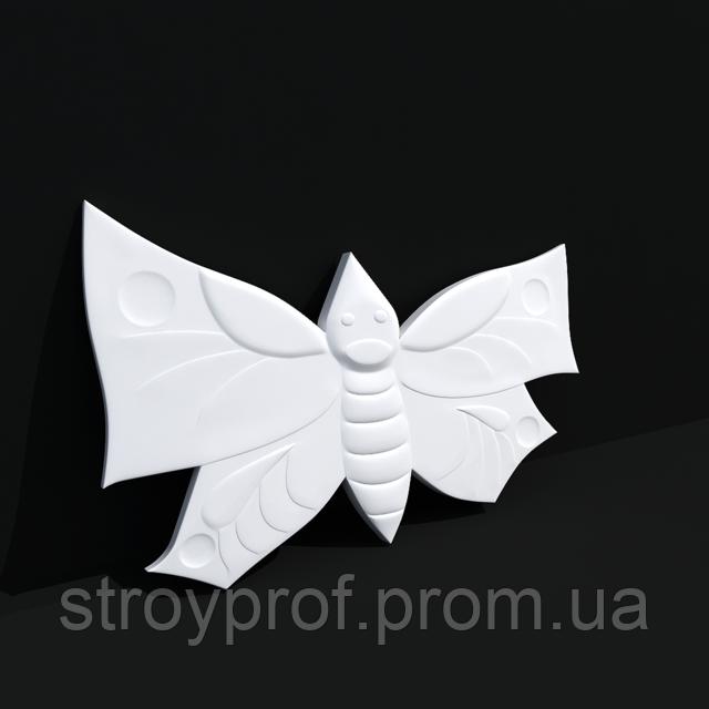 3D панели «Бабочки» Бетон