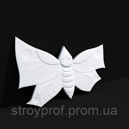 3D панели «Бабочки» Бетон, фото 2