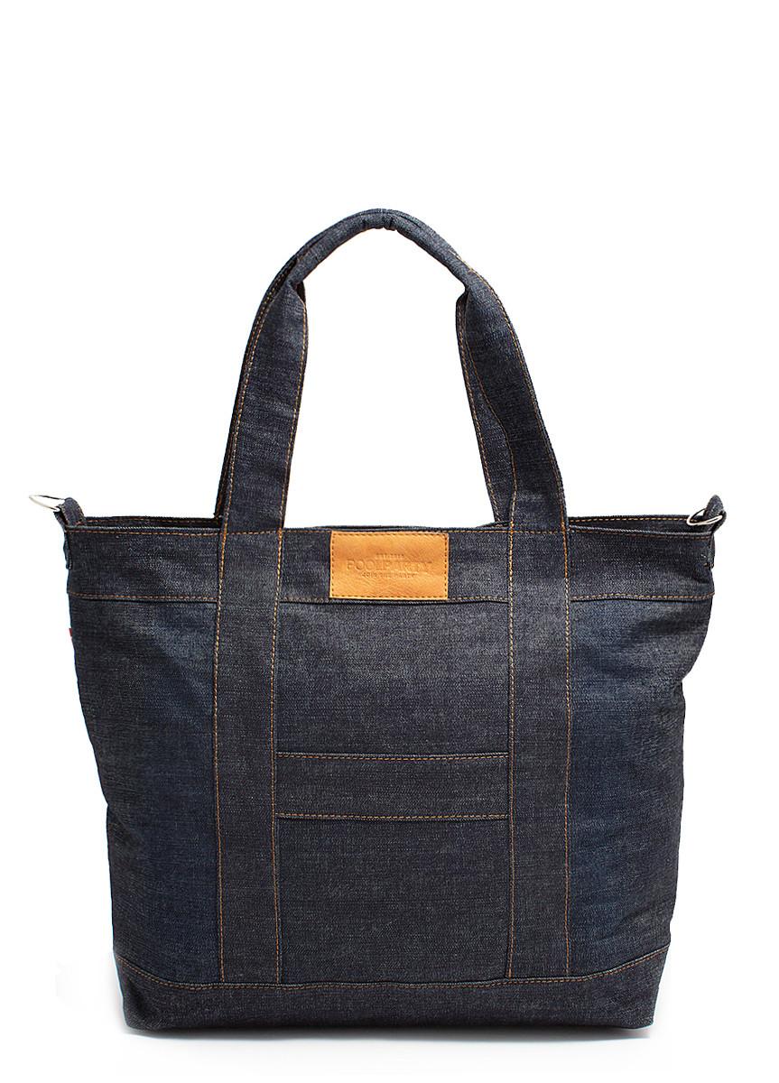 Джинсовая сумка POOLPARTY pool6-jeans