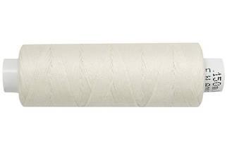 Нитка джинсовая АРЕНА 30 150 метров. Молочный - №038, цена за 6 катушек. по 150 метров.