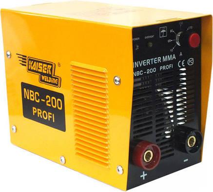 Сварочный инвертор Kaiser NBC 200 profi, фото 2