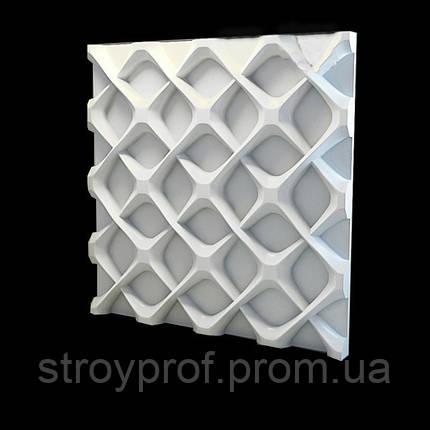 3D панели «Reshotka» Бетон, фото 2