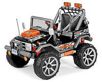 Детский электромобиль внедорожник PEG-PEREGO Gaucho Rock'in 12V, Черный