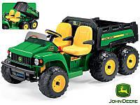 Детский двухместный внедорожник с откидным кузовомPeg-Perego John Deere Gator HPX 6X4