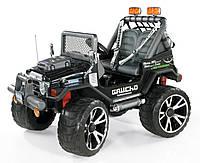 Детский электромобиль внедорожник PEG-PEREGO Gaucho Superpower 24V, Черный