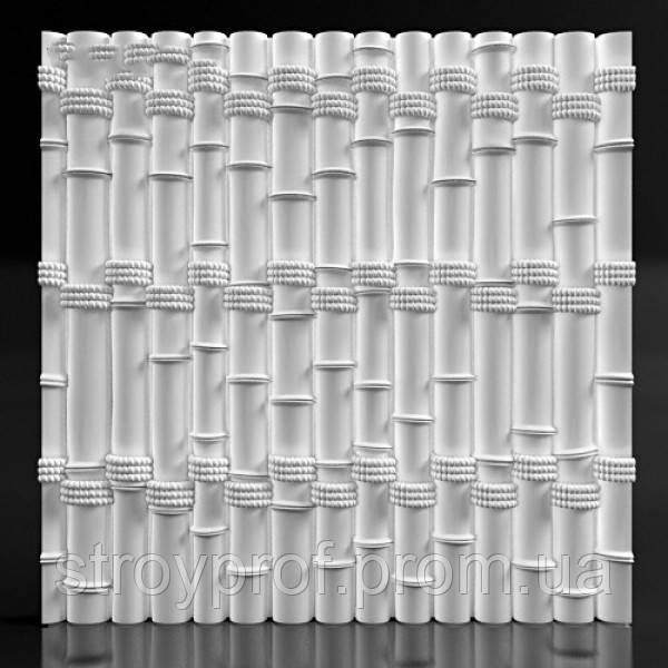 3D панели «Bamboo» Бетон