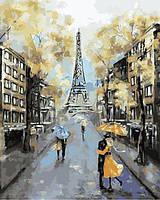 Картины по номерам 40×50 см. Осень в Париже