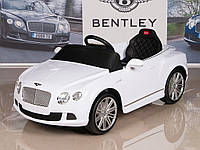Детский электромобиль Bentley Continental GT 12V (белый)