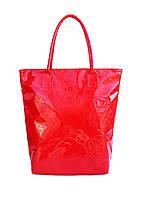 Лаковая сумка POOLPARTY pool86-laque-red