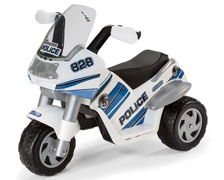 Детский трицикл для детей от двух лет PEG-PEREGO Raider Police  - Первый детский автосалон в Киеве