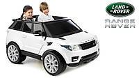 Двухместный детский внедорожник Range Rover Sport 12V  белый