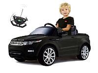 Детский электромобиль RANGE ROVER Evoque 12V (черный)