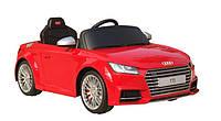Детский электромобиль AUDI TTS 12V (красный)