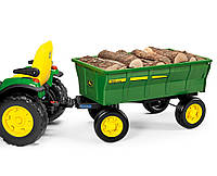 Детский прицеп для трактора 4-х колесный Peg Perego John Deere Farm Wagon
