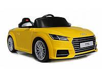 Детский электромобиль AUDI TTS 12V (желтый)