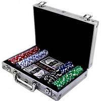 Покерный набор в алюминиевом кейсе 200