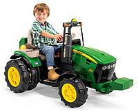Детский трактор Peg-Perego John Deere Dual Force 12V
