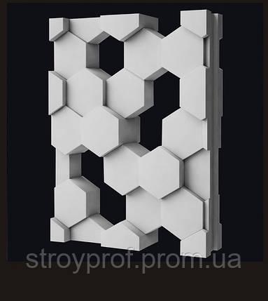 Гипсовые перегородки «Соты», фото 2