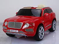 Детский электромобиль Bentley Bentayga premium edition (красный)