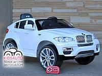 Детский электромобиль BMW X6 premium edition (белый)