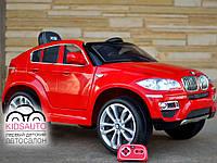 Детский электромобиль BMW X6 premium edition (красный)