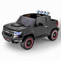 Детский электромобиль внедорожник Chevrolet Colorado style 4х4 FULL (black)