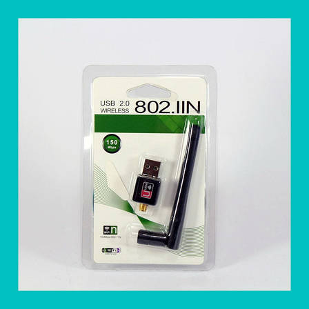 Скоростной USB wi-fi адаптер 150Mb WF-2/LV-UW10-2DB, фото 2