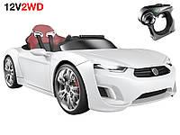 Детский электромобиль BROON F8 Dynamic Panel white