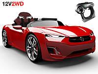 Детский электромобиль BROON F8 Dynamic Panel red
