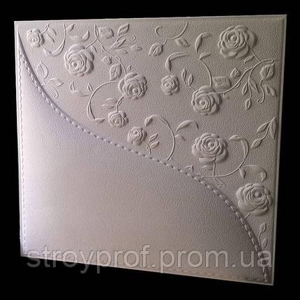 3D панели «Розы» Бетон, фото 2