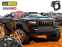 Детский электромобиль внедорожник T8 4WD Android. Lithium Edition (black)