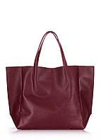 Кожаная сумка POOLPARTY Soho soho-marsala