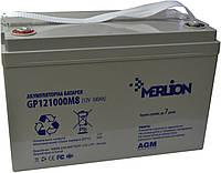 Аккумулятор мультигелевый MERLION GP12-100 12V 100AH, (AGM) для ИБП
