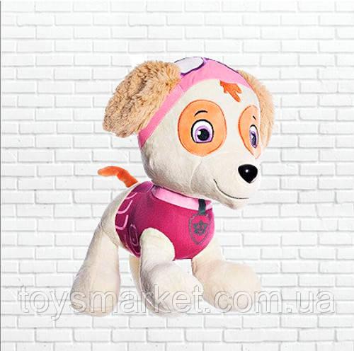 Детская мягкая игрушка 30см,щенячий патруль,щенок Скай