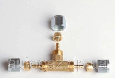 Фитинг тройник GOMET д6/д6/д6 /код GZ-2350 (шт.)