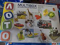 """Детское лото в картинках """"Multibox"""""""