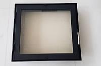 Дверца для камина 490 х 435 мм с жаропрочным стеклом, фото 1