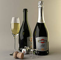 Шампанское Martini Asti. Игристое вино