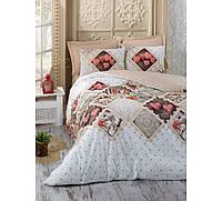 Хлопковый комплект постельного белья ЕВРО размера Cotton Box BETSEYBEJ CB03