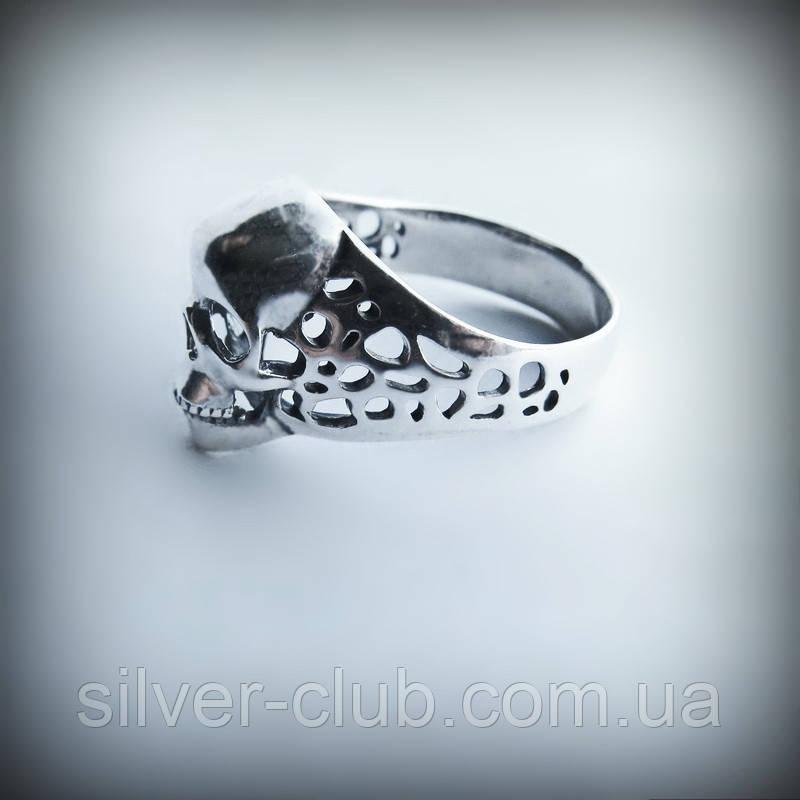 1026 Серебряное кольцо с черепом Терминатор из серебра 925 пробы ... a94960e12d361
