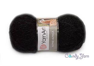 YarnArt Alpine Alpaca, Черный №439