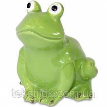 Статуэтка Лягушка керамика 11,5 см.