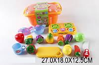 Игровой набор Кухня с овощами, в ящике 27х18х13 /36/