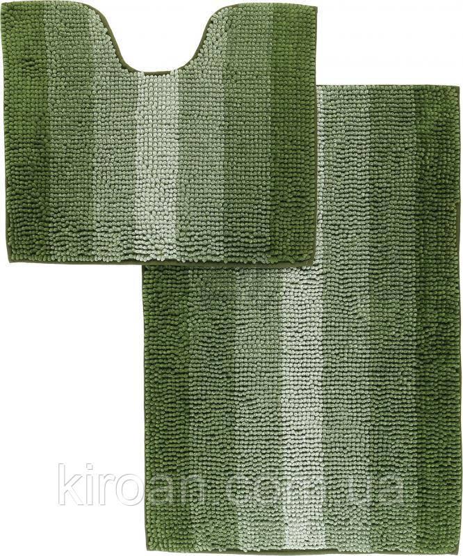 Набор ковриков для ванной комнаты «МАХРАМАТ»(зеленый)