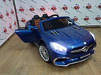 Детский электромобиль Mercedes SL65 AMG, машина М 3583EBLRS-4, синий